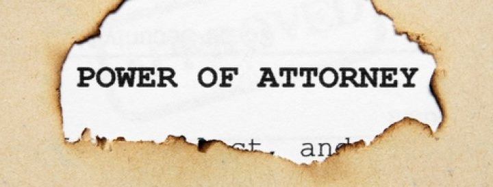 Know the importance of a power of attorney